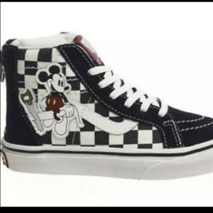Vans Disney Mickey Mouse Sk8 hi Sneakers Kids 12 95982ff65